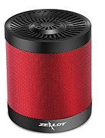 cheap -ZEALOT S5 Bluetooth Speaker Bluetooth 4.0 3.5mm AUX TF Card Slot Outdoor Speaker Dark Red Gray Dark Blue Black White