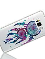 baratos -Capinha Para Samsung Galaxy S8 Plus S8 IMD Estampada Capa Traseira Apanhador de Sonhos Glitter Brilhante Macia TPU para S8 Plus S8 S7