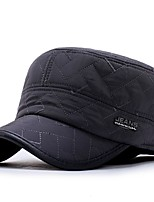 cheap -Men's Cotton Baseball Cap,Casual Embroidered All Seasons Stylish Navy Blue Dark Gray Black