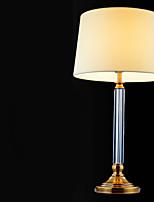 economico -Luce ambientale Artistico Lampada da tavolo Pretezione per occhi Interruttore On/Off Alimentazione AC 220V Avorio