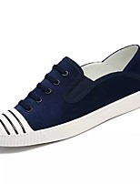 cheap -Men's Shoes Synthetic Microfiber PU Winter Light Soles Sneakers for Casual Khaki Gray Dark Blue