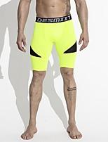 cheap -Men's Running Pants Breathability Pants / Trousers Running/Jogging Polyester Slim Grey Blue Yellow Black White XXL XL L M
