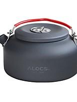 preiswerte -Camping-Wasserkocher Kochutensilien für den Outdoor Gourmet tragbar Hartes Aluminiumoxid Metal für Camping