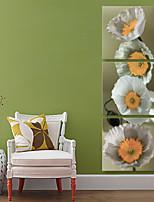 Stampa trasferimenti su tela Rustico Modern,Tre Pannelli Tela Stampa Decorazioni da parete For Decorazioni per la casa