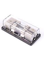 Недорогие -2-way / 2x agu встроенный держатель предохранителя распределительный блок стерео / аудио / автомобиль 60a