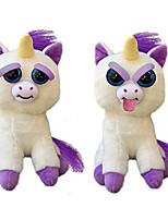 cheap -Animal Plush Toy Stuffed Toys Scary Unicorm Toy Stuffed Animals Plush Toy Cute Suddenly Turn Hostile Animals Novelty Kids Adults'