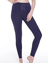 abordables -Mujer Pantalones de Running Gimnasio, Correr & Yoga Pantalones/Sobrepantalón Yoga Jogging Pilates Ejercicio y Fitness Poliéster Mezcla de