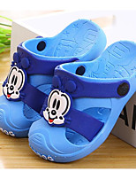 cheap -Boys' Shoes PVC Leather Spring Summer Comfort Slippers & Flip-Flops Walking Shoes for Casual Peach Blue Pink Light Blue