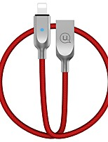 abordables -USB 2.0 Cable, USB 2.0 to Lightning Cable Macho - Hembra 1.2m (los 4Ft)