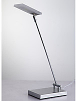 Ambient Light Artistic Table Lamp Eye Protection On/Off Switch AC Powered 220V Silvery