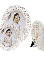 Classic European Style Modern/Contemporary Rhinestone Alloy Silver Electroplate Picture Frames Wall Decorations,1pc
