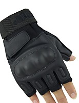 Sports Gloves Bike Gloves / Cycling Gloves Wearable Breathable Fingerless Gloves Synthetic Fiber Nylon leather Mountain Cycling Road