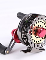 cheap -Fishing Reel Fly Reels Carp Fishing Reels Ice Fishing Reels 2.6:1 7 Ball Bearings Right-handed Left-handed Fly Fishing Bait Casting Ice