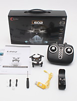 Недорогие -RC Дрон L602 4 канала 6 Oси 2.4G С HD-камерой 720P Квадкоптер на пульте управления Позиционирование оптического потока Вперед назад LED