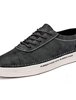 cheap -Men's Shoes Synthetic Microfiber PU Spring Fall Comfort Sneakers for Casual Khaki Gray Black