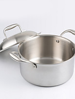 cheap -Stainless Steel Stainless Steel Flat Pan Multi-purpose Pot,26*7.5