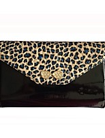 cheap -Women Bags Cowhide Patent Leather Clutch Crystal Detailing for Casual Office & Career All Season Yellow Black Blue