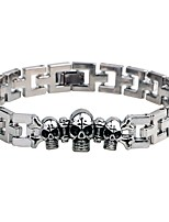 Men's Chain Bracelet Bracelet , Fashion Gothic Alloy Circle Jewelry For Going out Street