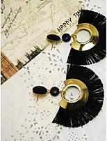 Недорогие -Жен. Серьги-слезки европейский Мода Сплав Геометрической формы Бижутерия Повседневные