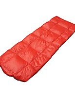 cheap -Sleeping Bag Rectangle Down 20°C Windproof Folding 210X140 Camping / Hiking / Caving Camping & Hiking Double