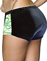 cheap -Cycling Shorts Women's Bike Shorts Padded Shorts/Chamois Bottoms Bike Wear Quick Dry Anatomic Design Wearable 3D Pad Reduces Chafing