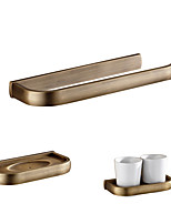 cheap -Towel Ring Toothbrush Cup Box/Case Archaistic Brass Antique Brass Wall Mounting