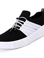 cheap -Men's Shoes PU Tulle Spring Fall Comfort Sneakers for Athletic Casual Red Black