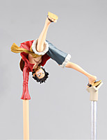 baratos -figuras de ação de anime inspiradas por uma peça de macaco d. luffy pvc cm modelo brinquedo brinquedo boneca