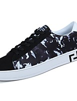 cheap -Men's Shoes Canvas Spring Fall Comfort Sneakers for Casual Black/Blue Black/Red Black/White