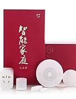 cheap -Xiaomi 5 in 1 Smart Home Security Kit - WHITE Wireless Switch / Sensor / Multifunctional Gateway Kit