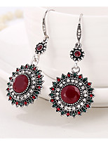 cheap -Women's Drop Earrings Floral Fashion Resin Alloy Flower Jewelry Gift Daily