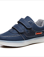 cheap -Girls' Shoes Leatherette Spring Fall Light Up Shoes Sneakers LED for Casual Blue Red Black White