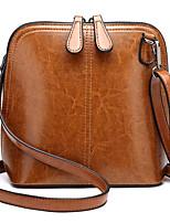 cheap -Women Bags PU Polyester Shoulder Bag Zipper for Casual All Season Brown Blushing Pink Black