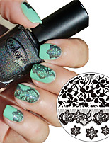 1Pc New Beauty Nail Stamping Plates Image Nail Art Stamps Plates Manicure Template Nail Tool