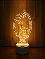 cheap -1 Set Of 3D Mood Night Light Hand Feeling Dimmable USB Powered Gift Lamp Globe