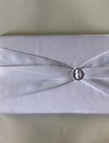 Недорогие -Атлас Романтика Фантастика СвадьбаWithСтразы 1 коробка Гостевая книга