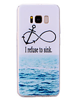 cheap -Case For Samsung Galaxy S8 Plus S8 Translucent Pattern Back Cover Word / Phrase Scenery Soft TPU for S8 Plus S8 S7 edge S7 S6 edge S6