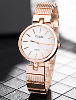 cheap -Women's Casual Watch Fashion Watch Chinese Quartz Casual Watch Stainless Steel Band Casual Elegant Silver Gold Rose Gold