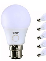 cheap -6pcs 9W 850lm B22 LED Globe Bulbs A60(A19) 9 LEDs SMD LED Lights Cold White 6000K AC 220-240V