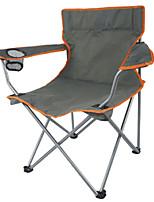 Пляжное кресло Складное туристическое кресло Пригодно для носки Воздухопроницаемость Складной Металл Ткань