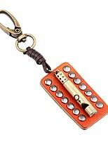 cheap -Keychains Jewelry Leather Alloy Irregular Basic Fashion Daily Holiday