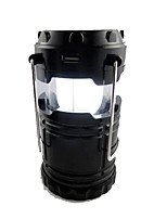 cheap -G85 Lanterns & Tent Lights LED 500 lm Manual Mode LED Simple Camping/Hiking/Caving Black