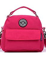 Women Bags Polyester School Bag Zipper for Casual All Season Dark Red Sky Blue Navy Blue Gray Green Fuchsia