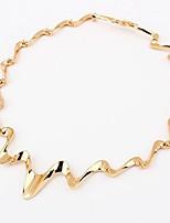 cheap -Women's Irregular Simple Fashion Choker Necklace , Alloy Choker Necklace , Daily