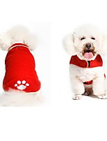 cheap -Dog Coat Dog Clothes Animals Cute Style Animal Print Red Black Costume For Pets