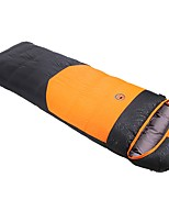cheap -Sleeping Bag Rectangle Duck Down 26°C Windproof 210X80 Camping / Hiking / Caving Camping & Hiking Single
