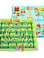 economico -Modellini di legno Labirinto magnetico Labirinto giocattolo Giocattoli Aereo Fiaba Stress e ansia di soccorso Giocattoli di decompressione