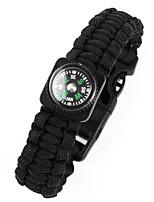 cheap -Survival Bracelet Outdoor Exercise Camping / Hiking / Caving Camping & Hiking Outdoor Nylon fiber 1 pcs