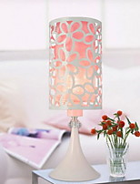 cheap -Simple Adjustable Table Lamp For Living Room Plastic 220V Pink Light Purple Dark Yellow