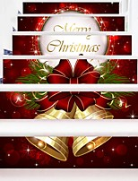 cheap -Christmas Holiday Wall Stickers Housing Plane Wall Stickers 3D Wall Stickers Decorative Wall Stickers Wedding Stickers,Paper Vinyl Home